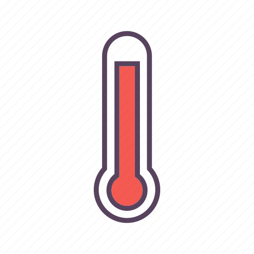high temperature, temperature, thermometer, weather icon
