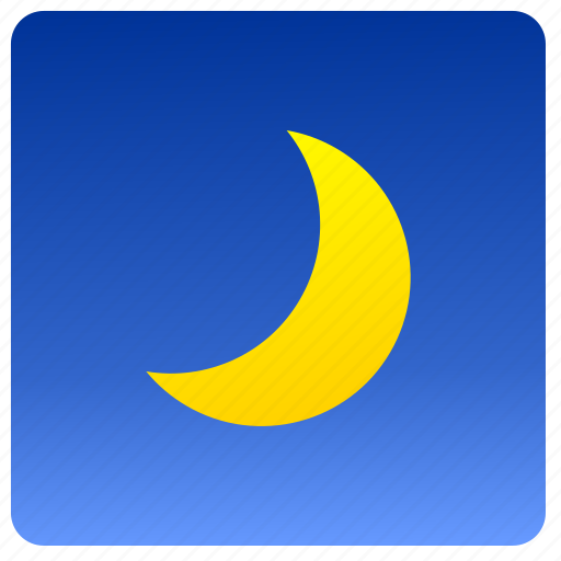 condition, moon, sky, weather icon