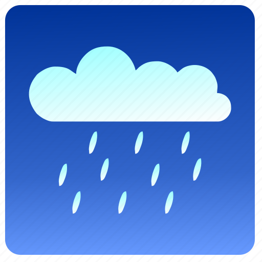 cloud, condition, rain, weather icon