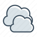 clouds, cloudy, gloomy, weather, forecast