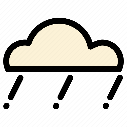 cloud, light, rain icon