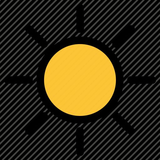 day, summer, sun icon