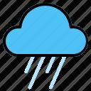 rain, weather icon