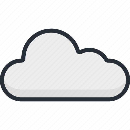 climate, cloud, cloudy, forecast, rain, season, weather icon