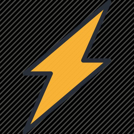forecast, lightning, rain, season, storm, thunder, weather icon