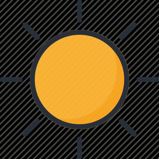 forecast, summer, sun, sunny, sunshine, warm, weather icon