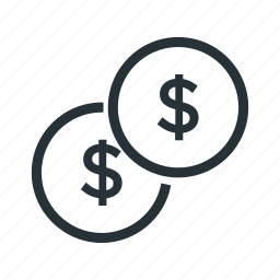 cent, coin, dollar, money, usd icon