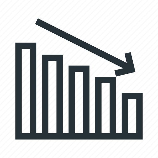 business, chart, finance, grow, report icon