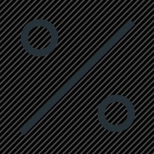 finance, percent icon