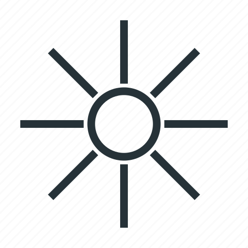 hot, summer, sun, sunny, sunshine, weather icon