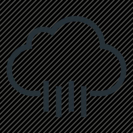 autumn, cloud, rain, rainy, weather icon