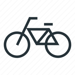 bicycle, bike, sports, transport icon