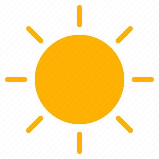 day, morning, sun, weather icon