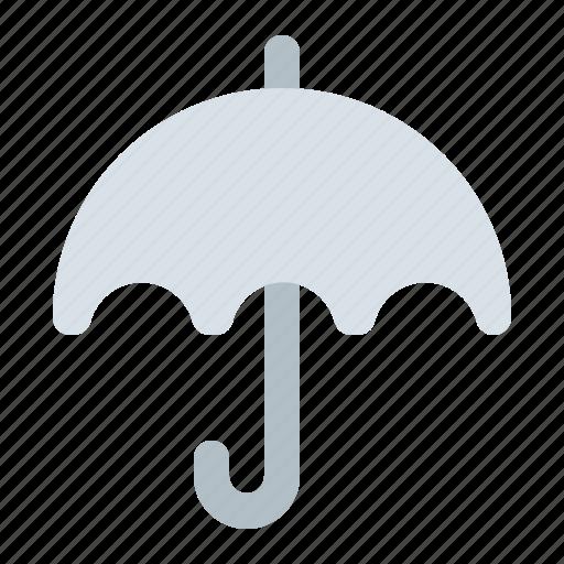 forecast, insurance, protection, rain, rainy, umbrella, weather icon