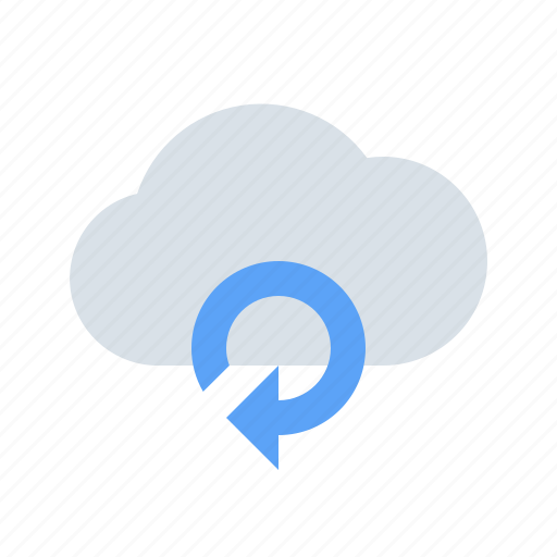 cloud, connect, data, refresh, reload, sync, weather icon