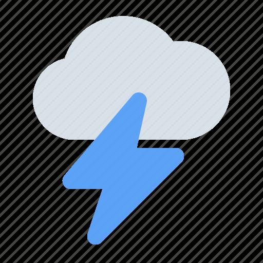 bolt, cloud, flash, lightning, storm, thunder, weather icon