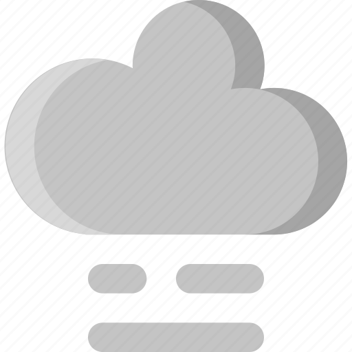 climate, cloud, cloudy, fog, foggy, sky, weather icon