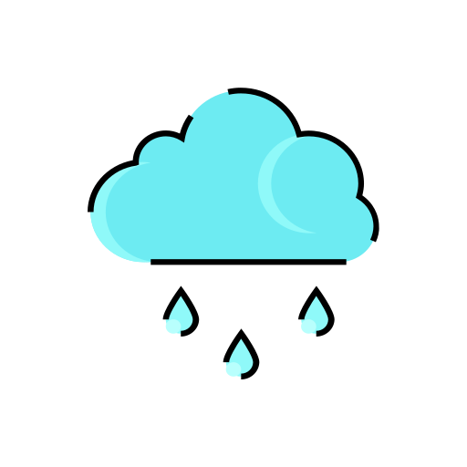 cloud, cloudy, meteorology, rain, rainy, sign, weather icon