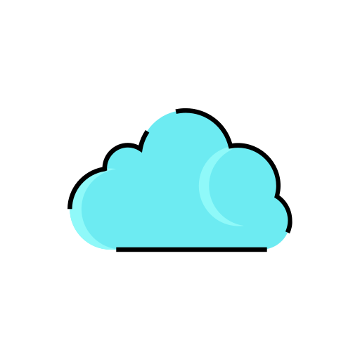 cloud, cloudy, meteorology, rainy, sign, weather icon