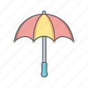 insurance, rain, umbrella icon
