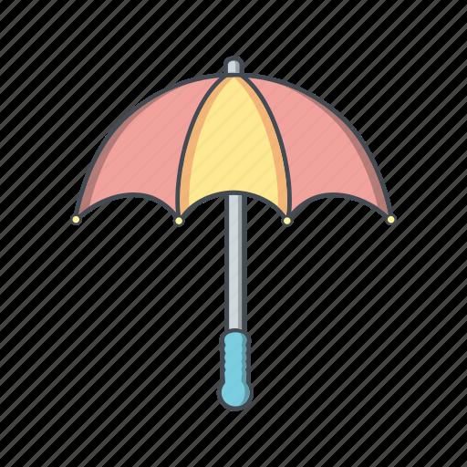 insurance, rain, umbrella icon