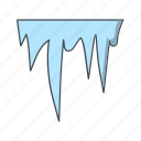 ice, icicle, icicles, snow icon