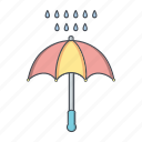 protection, raning, umbrella icon