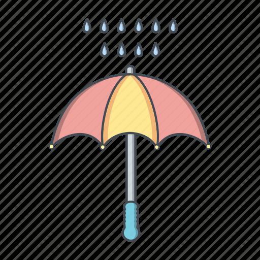 protection, raning, umbrella icon
