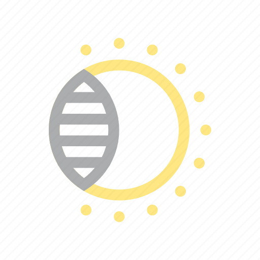 Astronomy, eclipse, sky, solar, sun icon - Download on Iconfinder