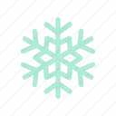 cold, forecast, season, snowflake, weather, winter icon