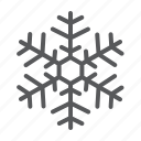 cold, freeze, frost, snow, snowflake icon