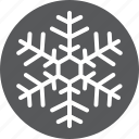 cold, freeze, frost, snowflake, weather icon