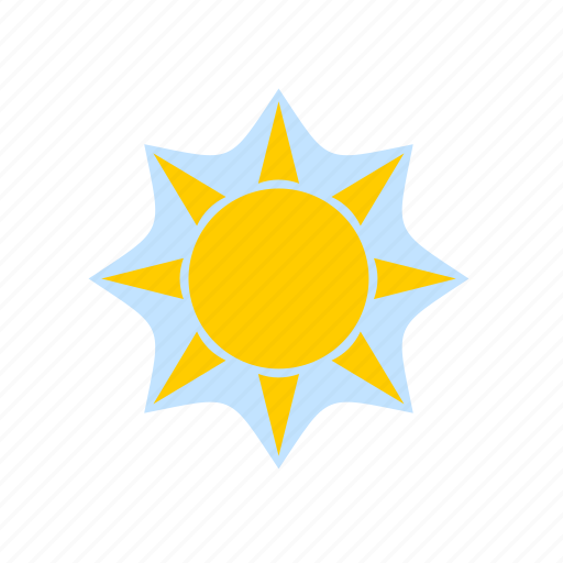 forecast, meteorology, solar, sun, sunny, weather icon