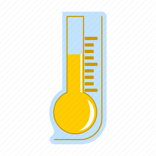 forecast, meteorology, summer, temperature, thermometer, weather icon
