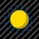weather, sun, sunny