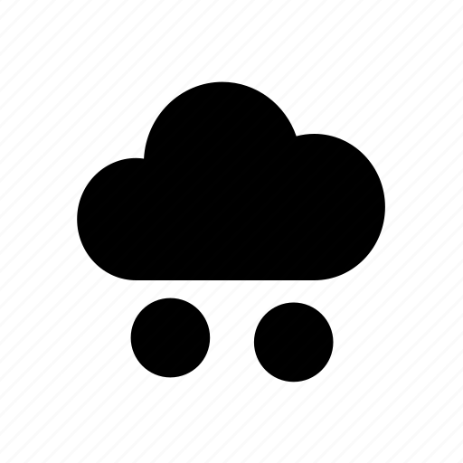 climate, cloud, forecast, meteorology, rain, storage, weather icon