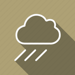 climate, cloud, forecast, meteo, meterology, rain, weather icon