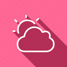 climate, cloud, forecast, meteo, meterology, sun, weather icon