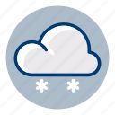 cloud, snow, snowy, weather, weather forecast, winter icon
