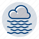 cold, fog, foggy, weather, weather forecast icon