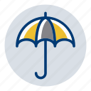 umbrella, weather, weather forecast icon
