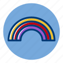 pride, rainbow, weather, weather forecast icon
