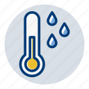 cold, rain, temperature, weather, weather forecast icon