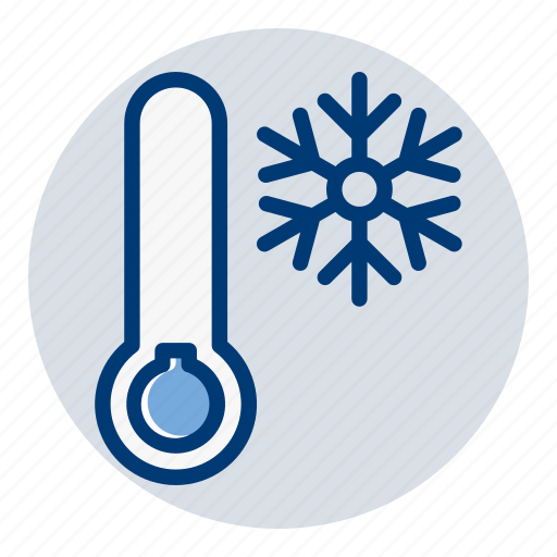 cold, snow, temperature, weather, weather forecast, winter icon