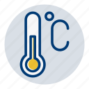 celcius, temperature, weather, weather forecast icon