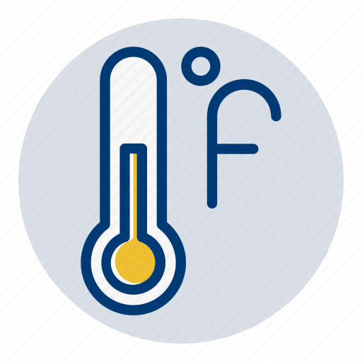 fahrenheit, temperature, weather, weather forecast icon