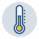celcius, fahrenheit, temperature, thermometer, weather, weather forecast icon