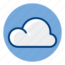 cloud, sky, weather, weather forecast icon