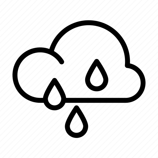 Cloud, fall, rain, rainy, weather, weather forecast icon - Download on Iconfinder