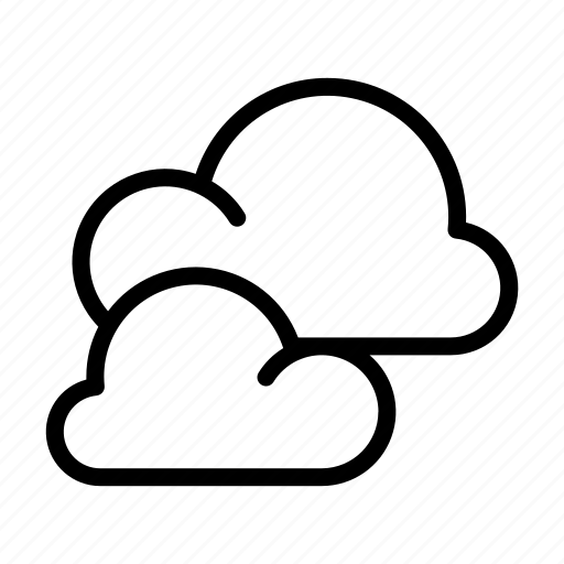clouds, cloudy, sky, weather, weather forecast icon